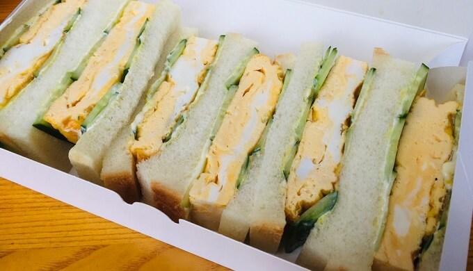 喫茶店『若』(サンドイッチ)のテイクアウト【蒲郡市三谷町】