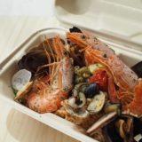 地中海レストラン・バルcasaの魚介たっぷりパエリア【蒲郡市海陽町】