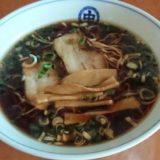 中国麺飯食堂「マルナカ」のブラックラーメン【蒲郡市港町】